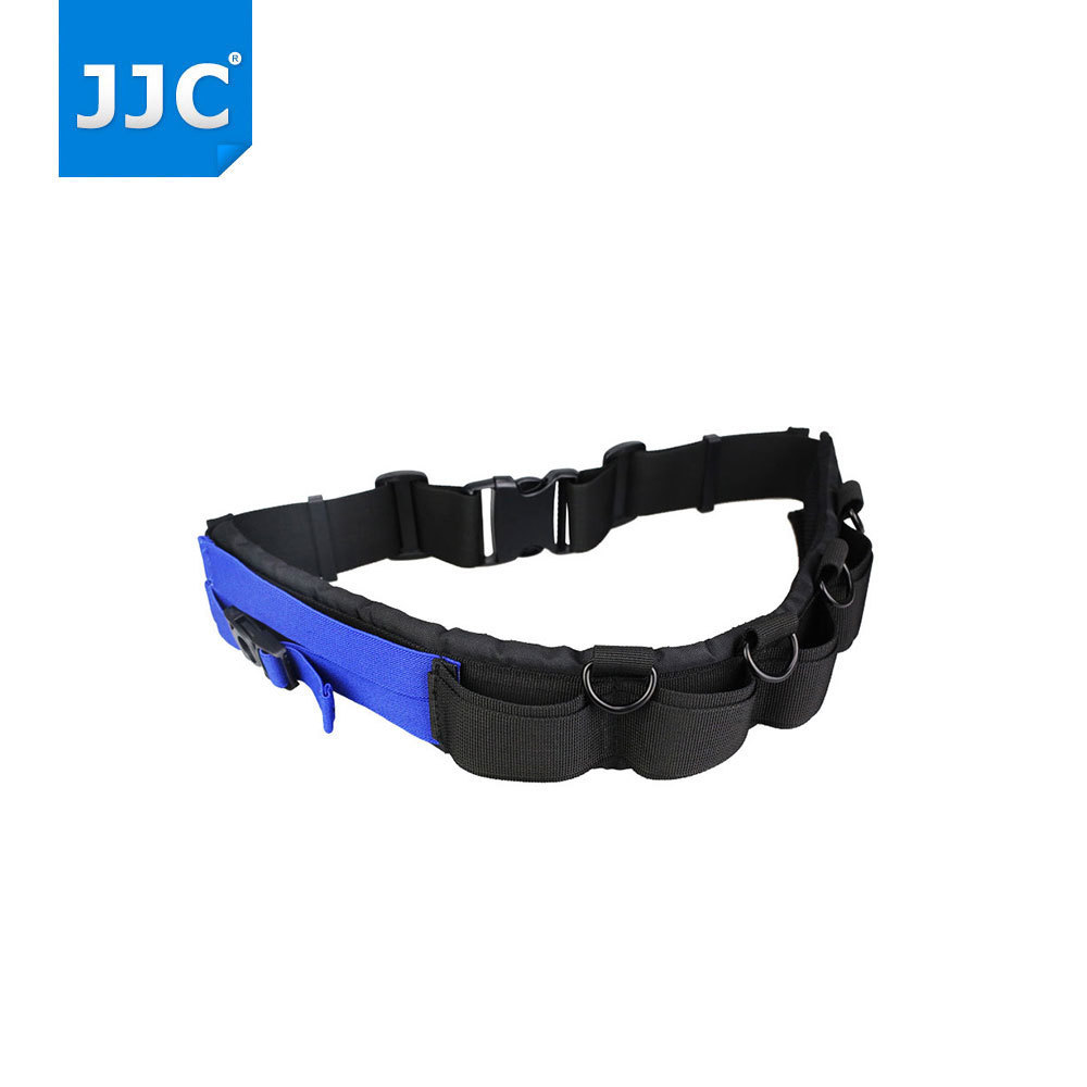 JJC Camera Lens Bag Waist Belt Strap Pocket for Nikon D3300/D7200/Canon 1300d/Sony A58/A7/A5000/A6000 Tripod Monopod Hook Buckle dslr camera backpack padding lens divider insert bag with 15 laptop pack travel bag for canon 5d 7d 600d nikon d7200 sony a6000