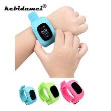 Q50 умный ребенок безопасный Смарт SOS Вызов локатор трекер часы для ребенка анти потеря монитор детские наручные часы