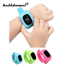 Q50 GPS Smart Kid Safe smart SOS Call Location Finder Locator Tracker Watch for Child Anti Lost Monitor Baby Wristwatch(China)