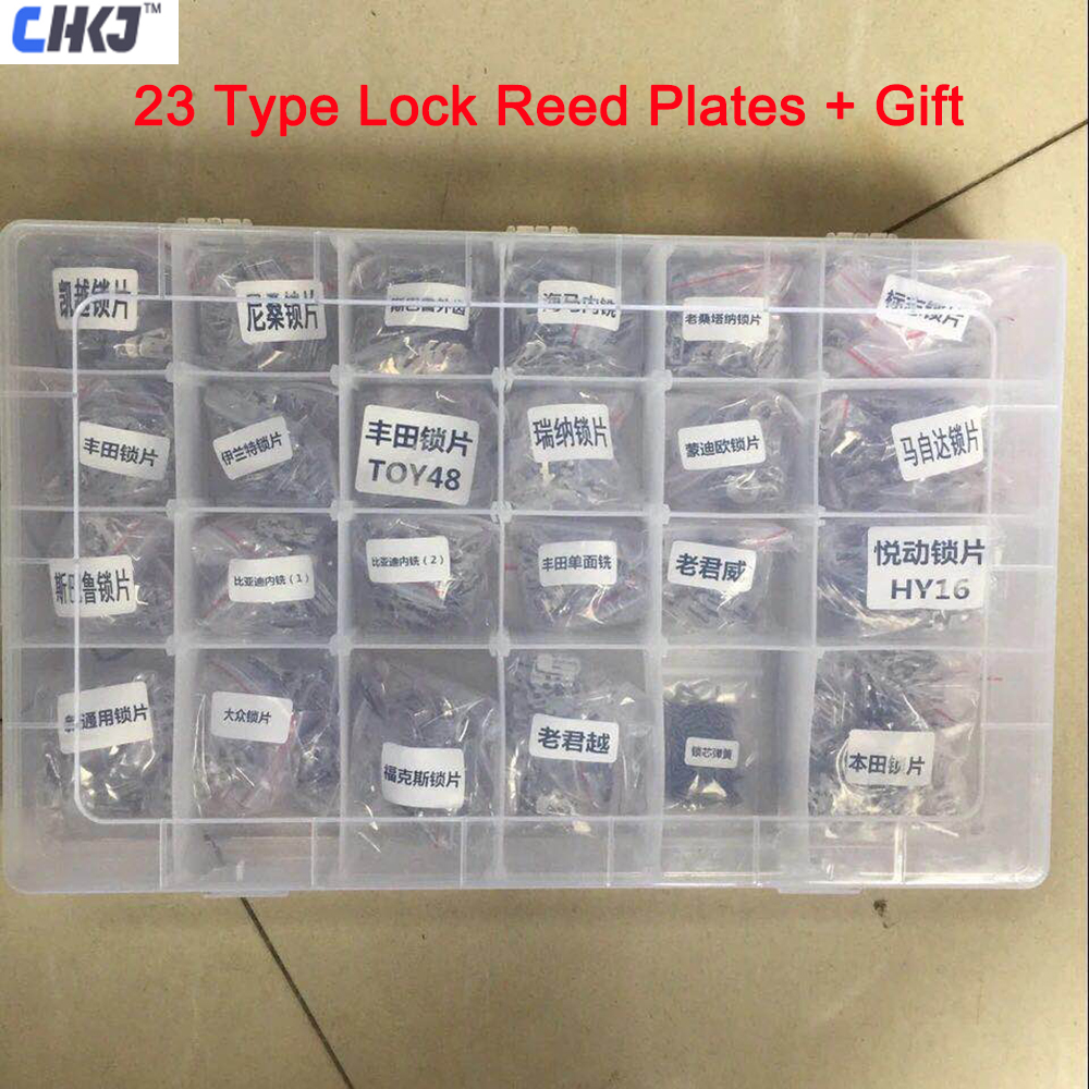 CHKJ 23 Type Car Lock Plate With 200PCS Spring Iron Material For HONDA HON66 For AUDI