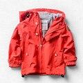 Новая весенне-Осенняя детская куртка Верхняя одежда для маленьких мальчиков и девочек, ветрозащитная двухслойная флисовая куртка Одежда д...