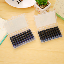10pcs Blue or Black red green 3.4mm fountain pen Ink Cartridges