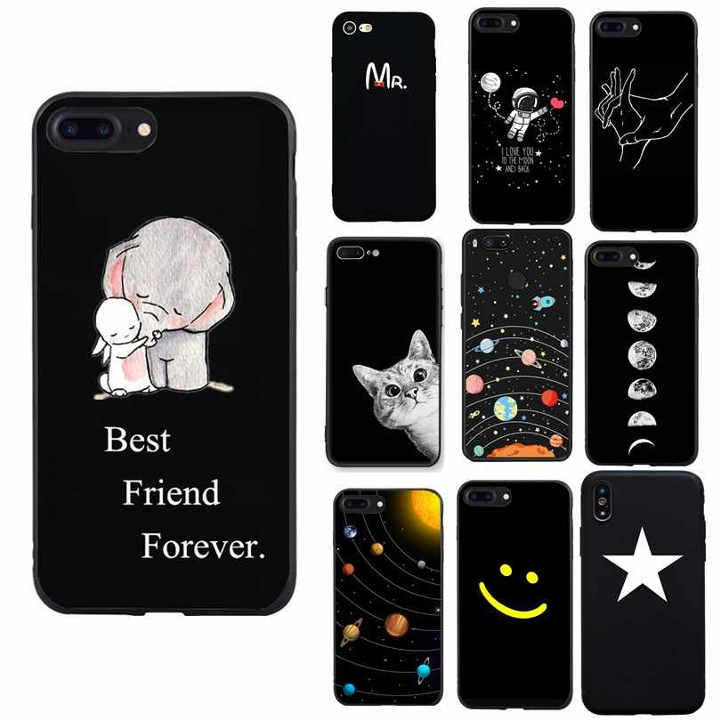 For Funda Huawei P20 Lite Phone Case Silicon Back Cover Capas For Huawei P Smart P8 P9 Lite 2017 mini Mate 10 P10 Lite Cases