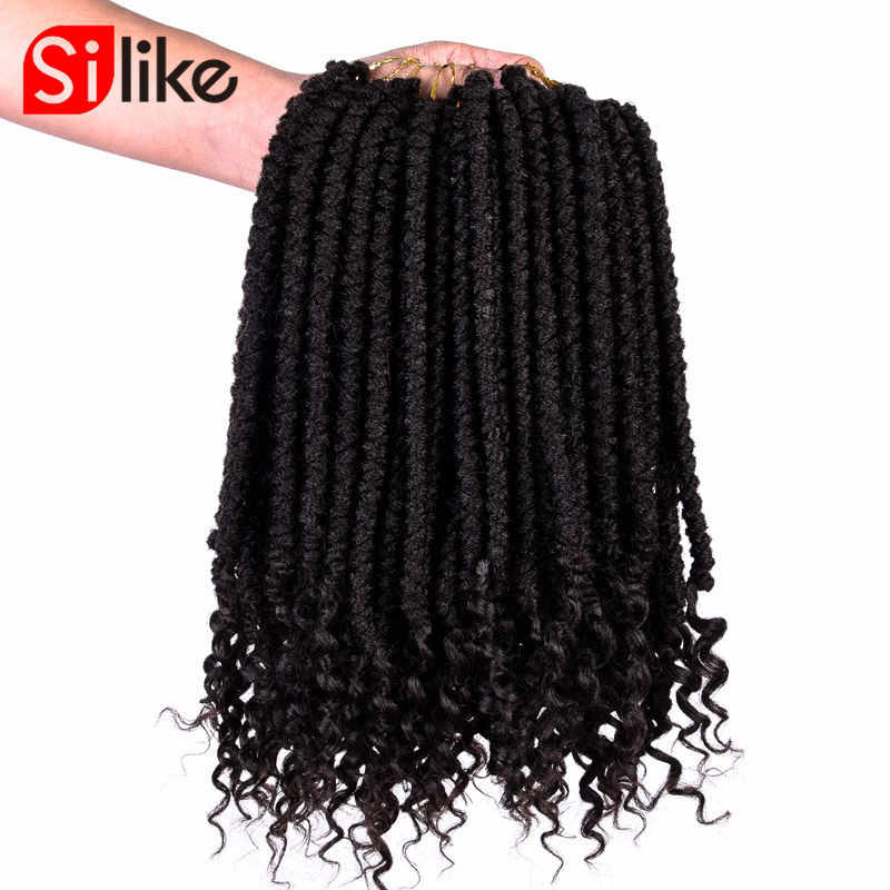 "12"" Senegalese Spring Twist Crochet Braids Hair Passion Synthetic Hair Extensions Braids Kinky Curly Twist 120g/pack"