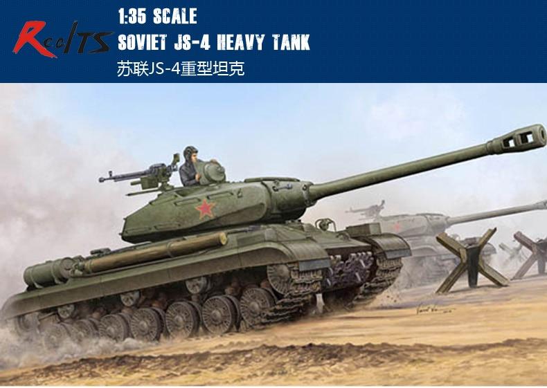 RealTS Trumpeter Model 05573 1/35 Soviet JS-4 Heavy Tank plastic model kit spot model 05546 trumpeter 1 35 soviet t 10m heavy tanks