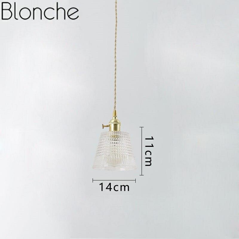Suspension nordique en verre américain lampe suspendue pour salle à manger cuisine Restaurant décor à la maison planétarium Suspension luminaires - 3