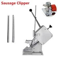 Manual Sausage Packing Machine Food Standard Single Manuel U shape Sausage Clipper Clipping Maker Machine