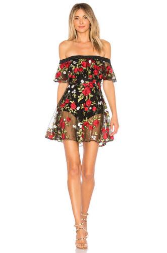 Elegant Women Horizontal Neck Mini Dress Evening Party Off Shoulders Casual Dress Print Dresses HOT