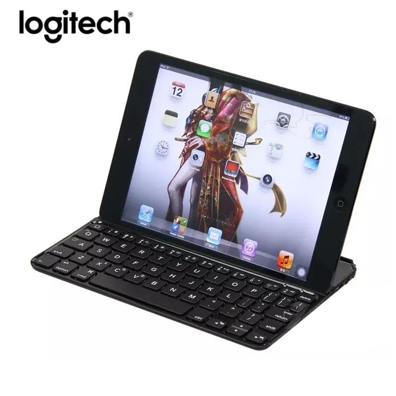 Original Logitech Ik700 Tastiera Wireless Bluetooth Keyboard Waterproof Ergonomics Mini Keyboard Teclado For Ipad Mini 1 2 3
