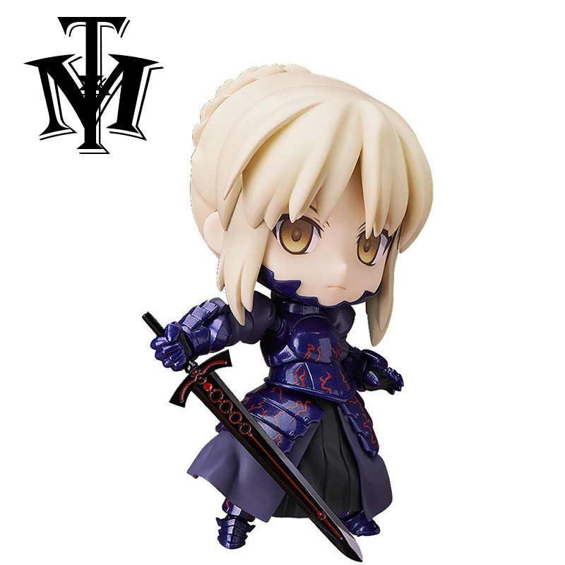 Fate stay night коллекция прекрасная Q версия фигурка героя гаража комплект модель игрушки фигурка Мультяшные украшения Детская кукла