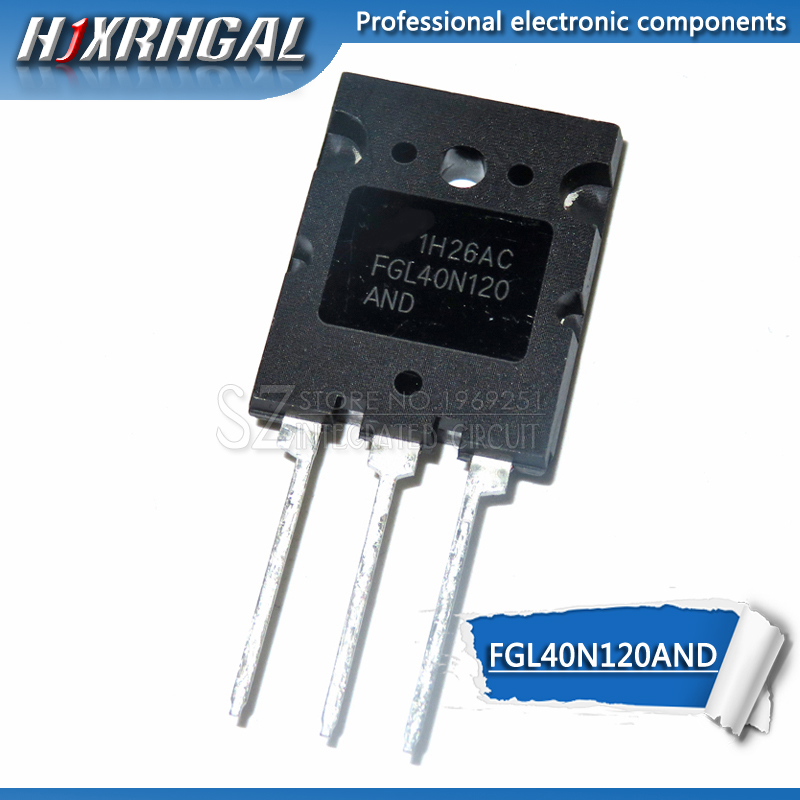 2pcs FGL40N120AND 40A/1200V <font><b>40N120</b></font> FGL40N120 TO-3PL FGL40N120ANDTU NPT IGBT new and original HJXRHGAL image
