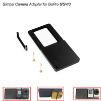 Compatible Adapter Mount Plate For Gopro Hero 5 4 3 3 Xiaoyi Fit For DJI OSMO