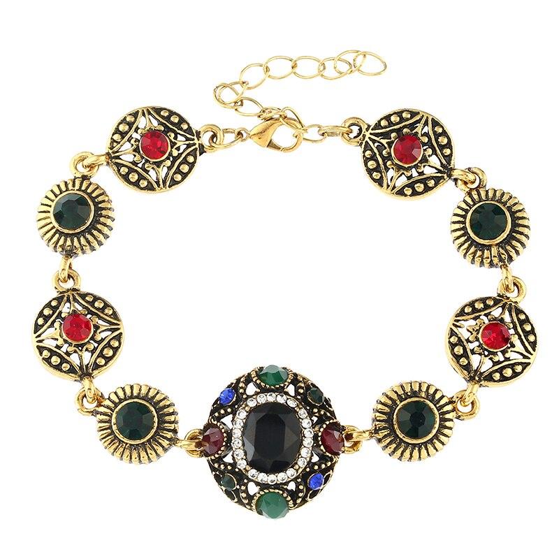 MIARA.L Quick Sale Jewelry Luxury Alloy Micro-insert Alloy Bracelet Retro Palace Fashion Jewelry for Ladies