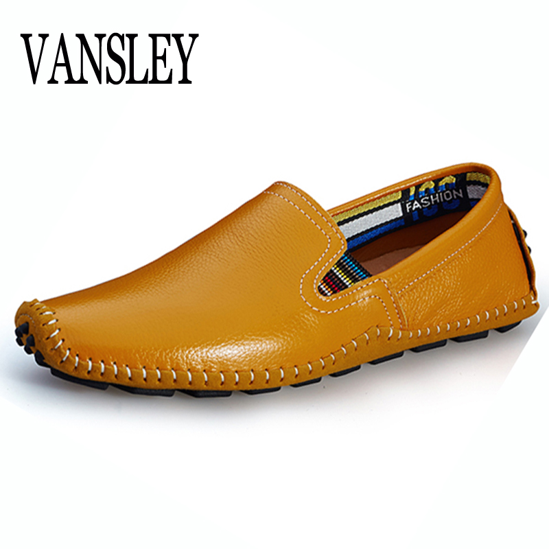 Men Casual Shoes Genuine Leather Shoes Men Flats Shoes Casual Loafers Fashion Moccasins Slip On Mens Driving Boat Shoes Social klywoo breathable men s casual leather boat shoes slip on penny loafers moccasin fashion casual shoes mens loafer driving shoes