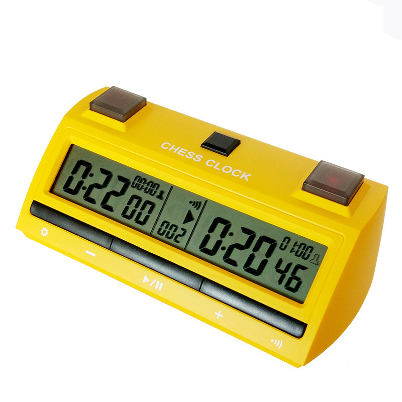 Electronic digital Chess clock Jump Competition Games Multifunction Timer Stop Watches Professional Sports in Chess Sets from Sports Entertainment