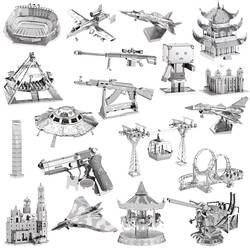 3D металлическая модель DIY детские головоломки игрушечные лошадки собраны развития интеллекта взрослых детей Образование коллекция
