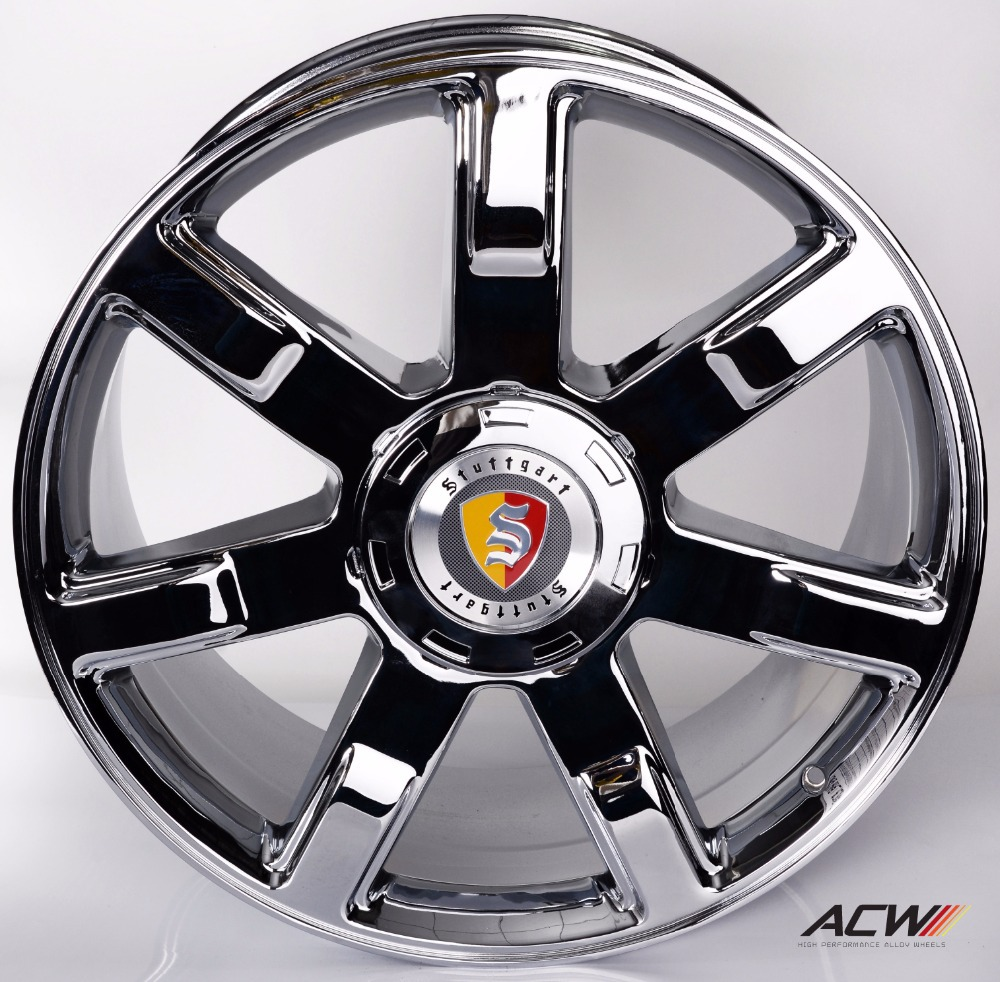 24 wheels chrome - Aliexpress Com Buy Anchi Alloy Wheels Rims For Cadillac Escalade 24 Inch Color Chrome Model 7095 From Reliable Rims 13 Suppliers On Acw Alloy Wheels Agent