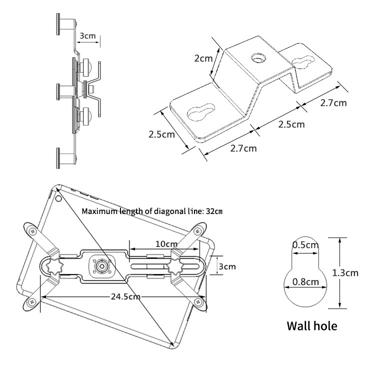 tablet stand wall (4)