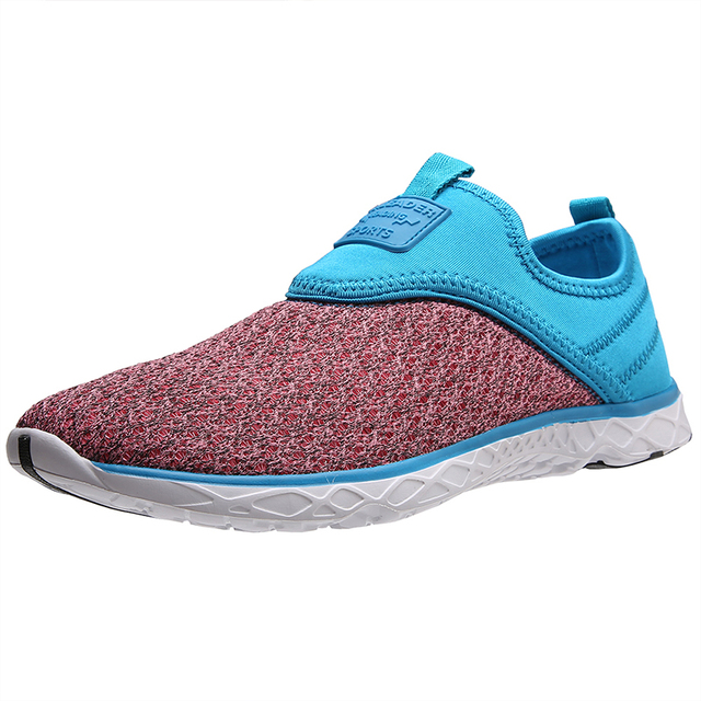 Aleader New Women Cushion Walking Flats Lightweight Casual Shoes Comfortable Outdoor Beach Water Shoes Beauty zapatillas mujer