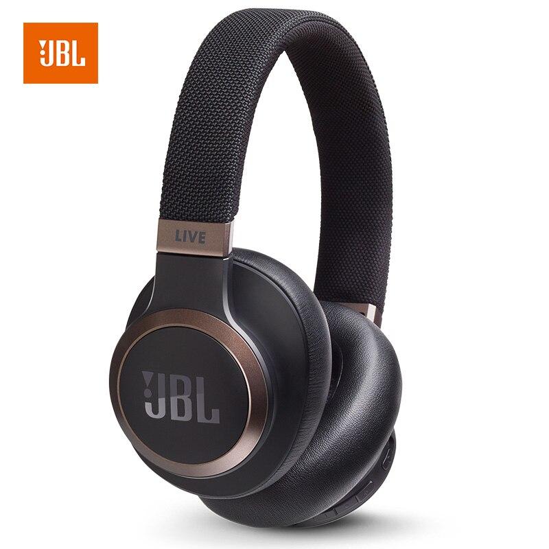 Nouveau JBL LIVE 650 BTNC casque antibruit automatique AI Smart Voice casque sans fil Bluetooth casque filaire casque de jeu de téléphone portable