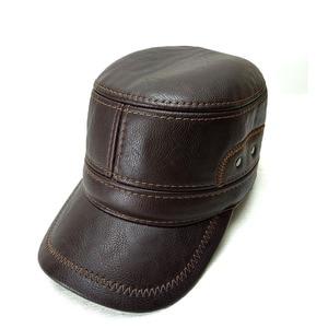 Image 2 - Fibonacci Caps For Men Baseball Caps High Quality Leather Patchwork Adjustable Flatcap Winter Hats Snapback Middle Aged Dad Cap
