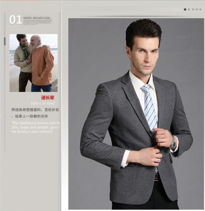 Европа-американский стиль бизнес джентльмен топ моды свободного покроя пак куртка для мужчин, шерсть-лист мужская свинья большой