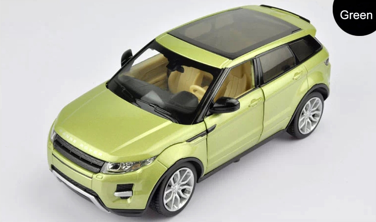 1 24 Scale Diecast Alloy Metal Luxury SUV Car Model For Range Rover Evoque Collection Class
