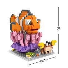 LOZ Marlin blocks ego nero legoe star wars duplo lepin brick minifigures ninjago guns duplo farm castle super heroes playmobil