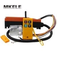 Industrial Hoist Wireless Radio Remote Controller Switch For Crane 1 Receiver+1 Transmitter AC220V 110V 380V 36V DC12V 24V