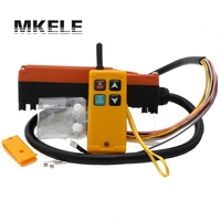 Industrial Hoist Wireless Radio Remote Controller Switch For Crane 1 Receiver 1 Transmitter AC220V 110V 380V