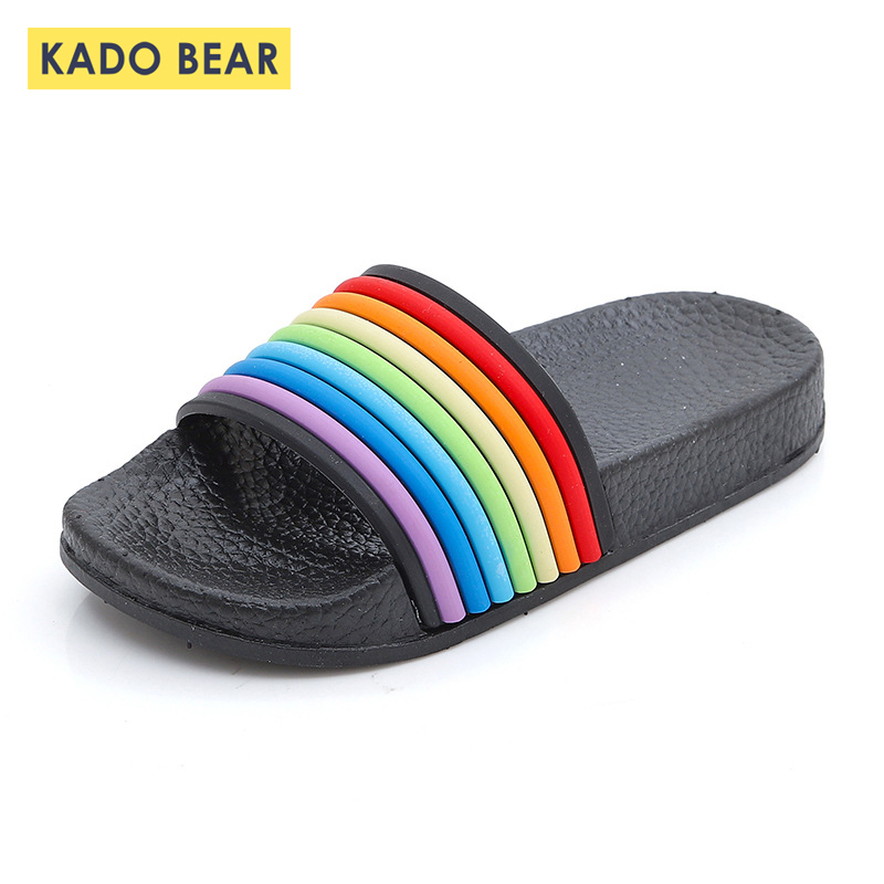 Kids Rainbow Fashion Shoes Childrens Beach Water Outdoor Summer Slippers Baby Girl Boy Cartoon Home Indoor Toddler Cute SandalsKids Rainbow Fashion Shoes Childrens Beach Water Outdoor Summer Slippers Baby Girl Boy Cartoon Home Indoor Toddler Cute Sandals