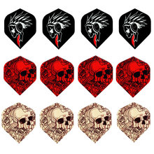MRTNAN Professional 6/9/12/24/30/60pcs 2D Bling Laser Tail Flight professional darts flights set high quality dart wing 60pcs mixed style professional dart flights darts accessory outdoor and indoor sports standard dart tail wings
