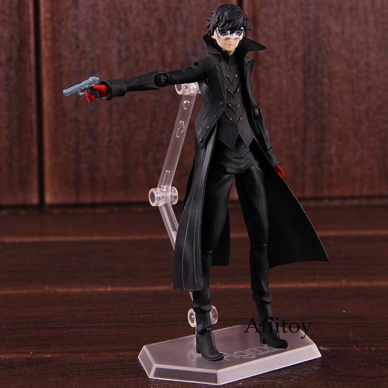 Persona 5 Christmas Gifts.Figma 363 Persona 5 Shujinkou And Morgana Joker Figure New