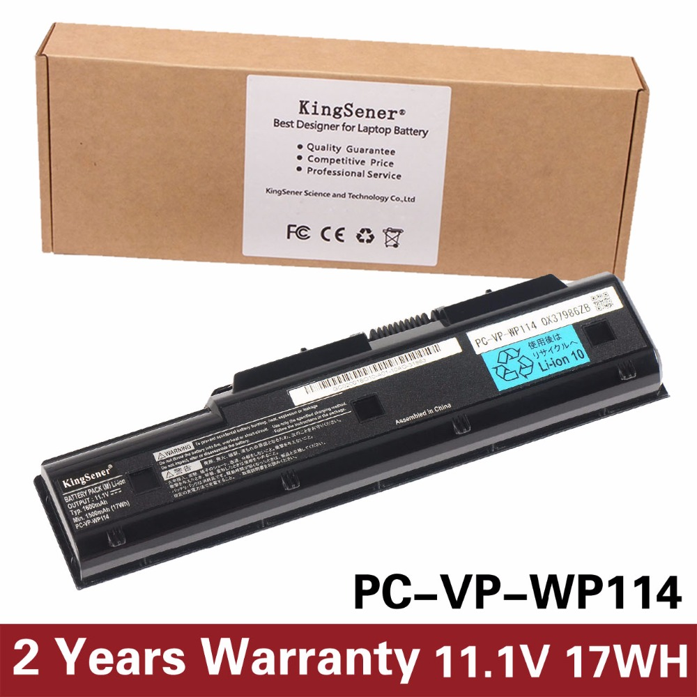 KingSener New PC-VP-WP114 Laptop Battery for NEC PC-VP-WP104 PC-VP-WP103 PC-VP-WP127 PC-VP-WP121 11.1V 1600mAh quality hydraulic pump vp 20 low pressure variable vane pump vp 15 long warranty period vp 12