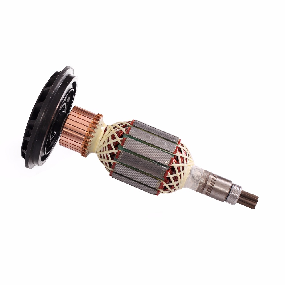 AC 220V/240V Armature Rotor replacement For BOSCH GSH11E GBH11DE GSH 11E GBH 11DE demolition Rotary hammer Electric spare parts