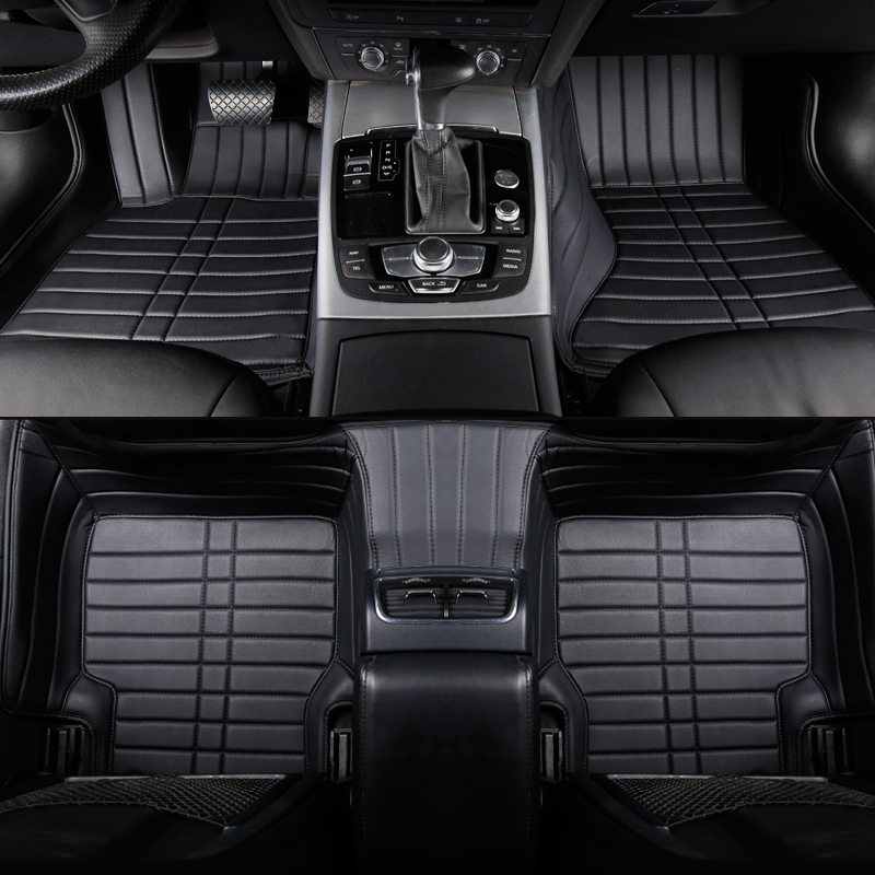Custom car floor mats For nissan all model qashqai juke qashqai almera Patrol GT-R X-Trail Cefiro fuga QUEST car accessories