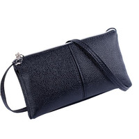 Women S Leather Handbag Tote Trendy Bags Lovely Female New Design Crossbody Message Bag Banquet Purse