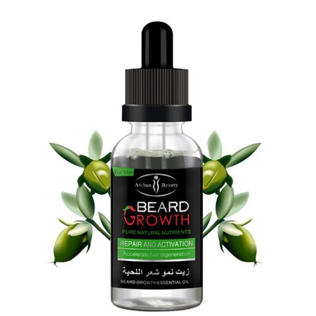 100% Natural Organic Men Growth Beard Oil 3