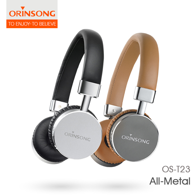 90509fa2e06 Orinsong Os-T23 Cheap Wireless Headphones Csr Stereo Sport Over-Ear  Bluetooth Headphone With Microphone