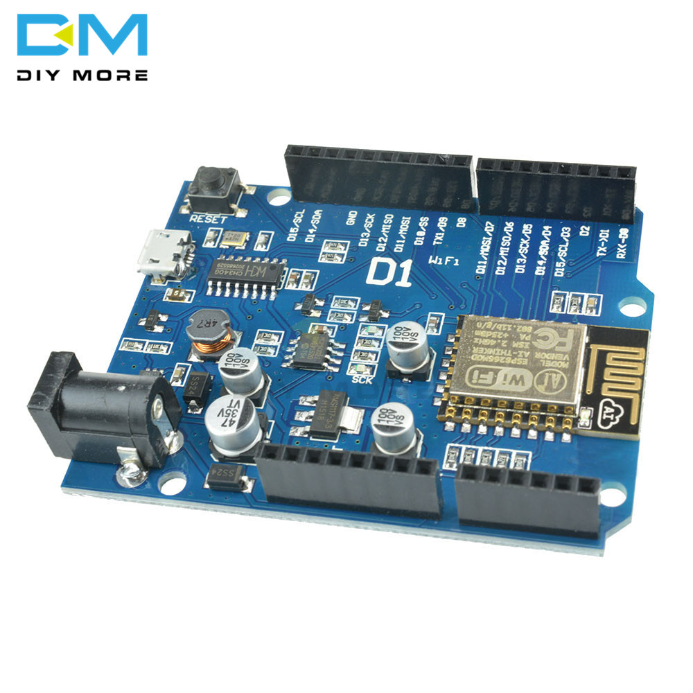 ESP8266 ESP-12E FOR WeMos D1 CH340 WiFi Wireless OTA Development Board IDE UNO R3 For ARDUINO Compatible Drive Module ONE 1A 24V
