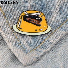DMLSKY Cartoon Pins Enamel and Brooches Women Men Lapel Pin Backpack Badge Tie Hat Jewelry M3709