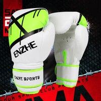 2017 New Kick Boxing Gloves PU Leather Half Mitts Mitten Muay Thai Karate Taekwondo Training Boxing