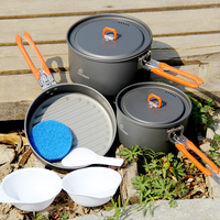 Fire Maple Feast 3 Folding Portable Camping Pot Picnic Cooking Cookware Set