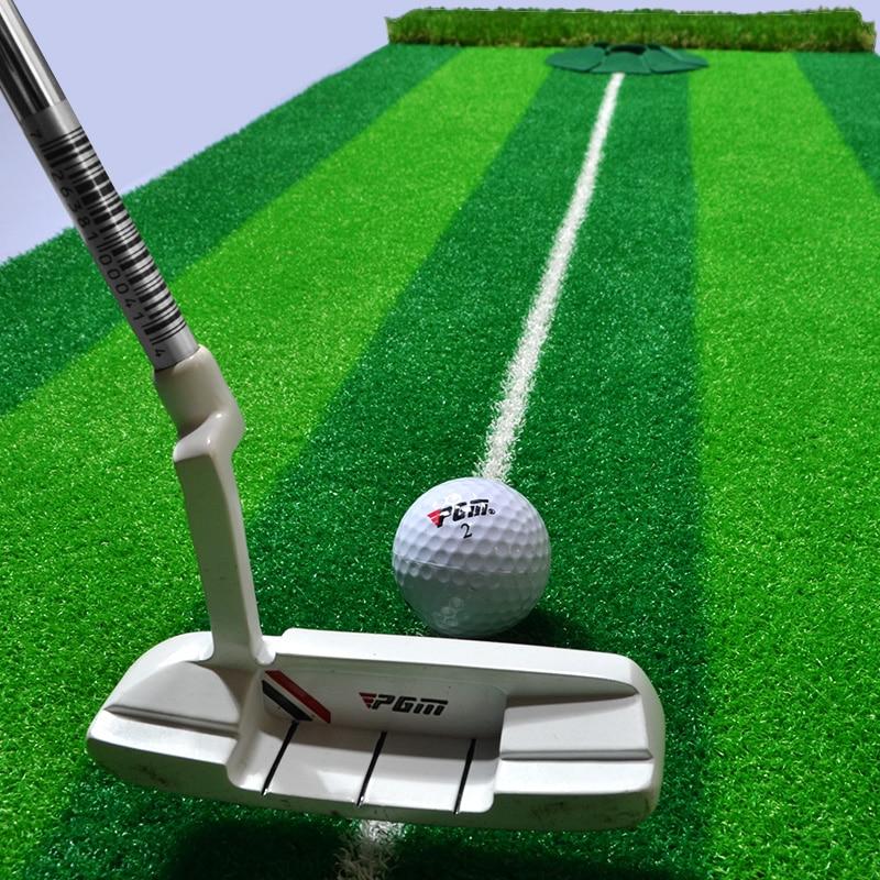 PGM Brand Indoor Golf Putter Trainer Practice Set Training Mat Indoor Mini Golf Putting Green Indoor Golf Simulator Set Practice