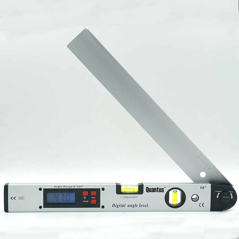 Electronic Angle Instruments : Degree digital angle level meter gauge mm inch