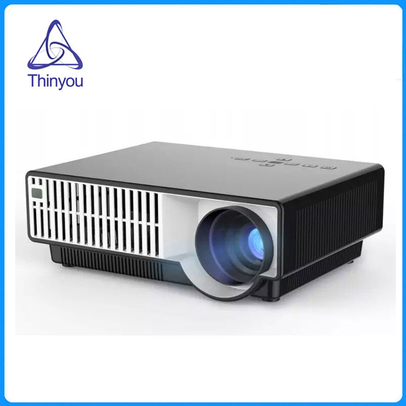 Thinyou LED Projector Business Home Theater Multimedia Support FULL HD 1080P HDMI/USB/AV/SD/VGA for PC Laptop Games майка борцовка print bar народы севера
