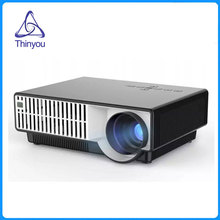 Thinyou LED Projector Business Home Theater Multimedia Support FULL HD 1080P HDMI/USB/AV/SD/VGA for PC Laptop Games