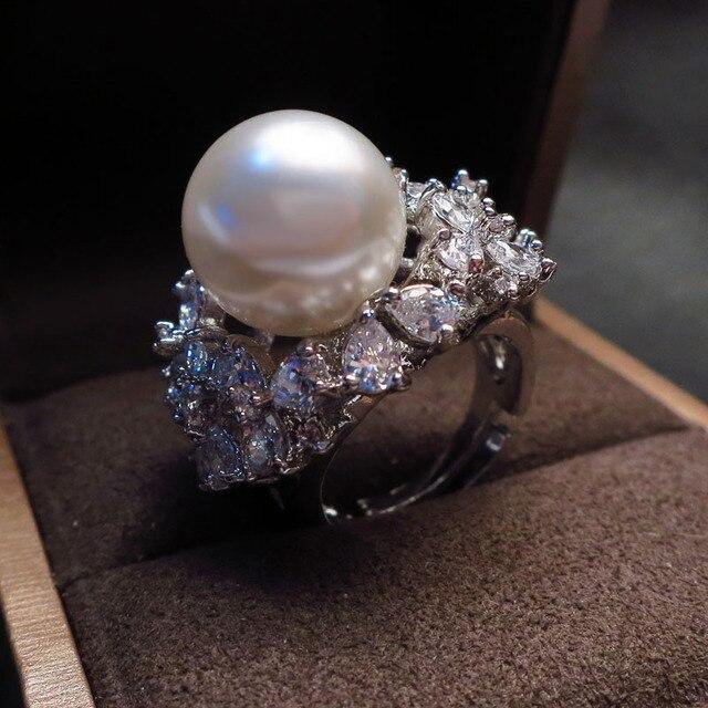bague perle luxe