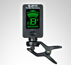 Image 3 - 300x JOYO JT 01 Sensitive Mini Digital LCD Clip on Tuner Guitar Bass Violin Ukulele Guitarra Accessories wholesale DHL shipping