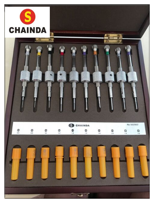 Free Shipping CHAINDA Bergeon Style Watchmakers Precision Screwdriver 10 Piece Set Brand New 1pc bergeon work desk top mat 6808 antistatic green plastic watchmakers repairs 9 5 x 12 5